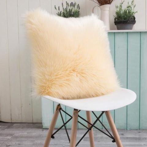 Faux Fur Cushion Cover - The Home Accessories Company 1