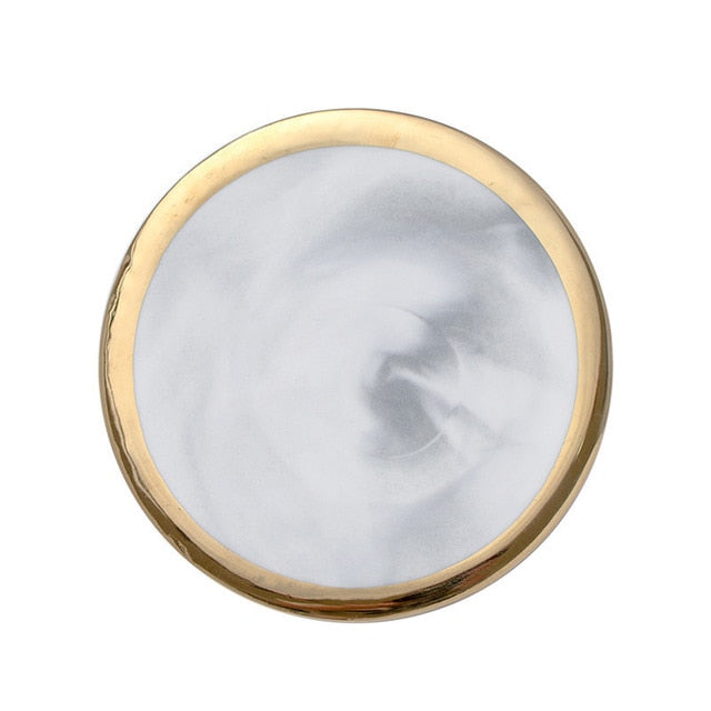 Gold Marble Coaster- The Home Accessories Company 3