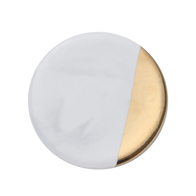 Gold Marble Coaster- The Home Accessories Company 2