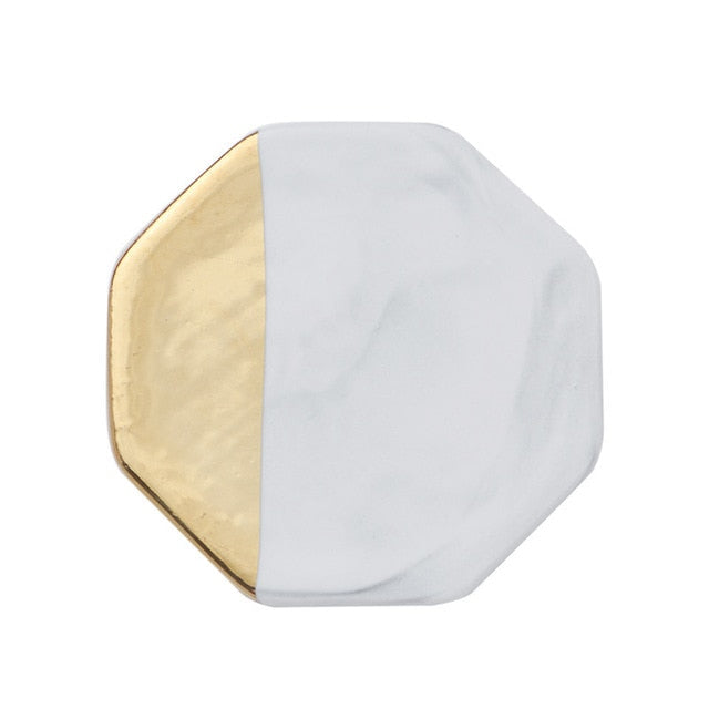Gold Marble Coaster- The Home Accessories Company 4