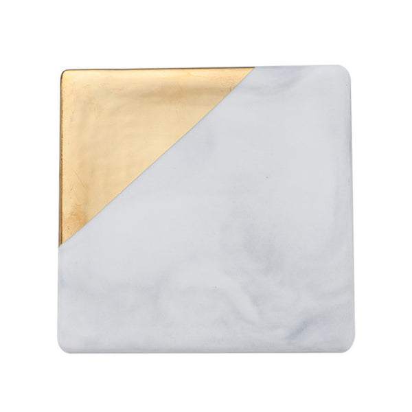 Gold Marble Coaster- The Home Accessories Company