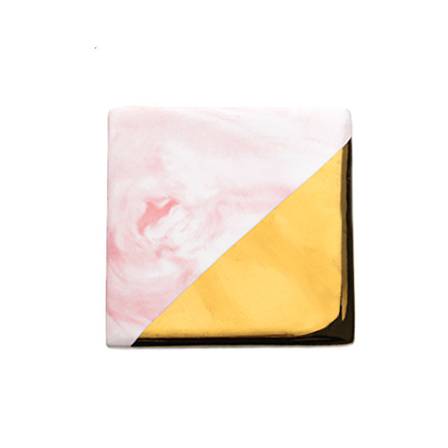 Gold Marble Coaster- The Home Accessories Company 8