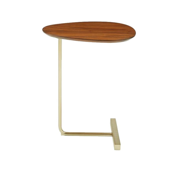 Simple Oval Wooden Side Table - The Home Accessories Company 2