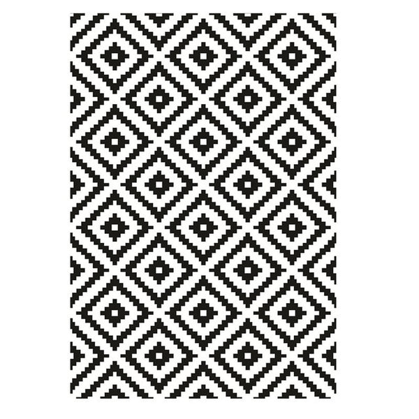 Monochrome Print Rug- The Home Accessories Company