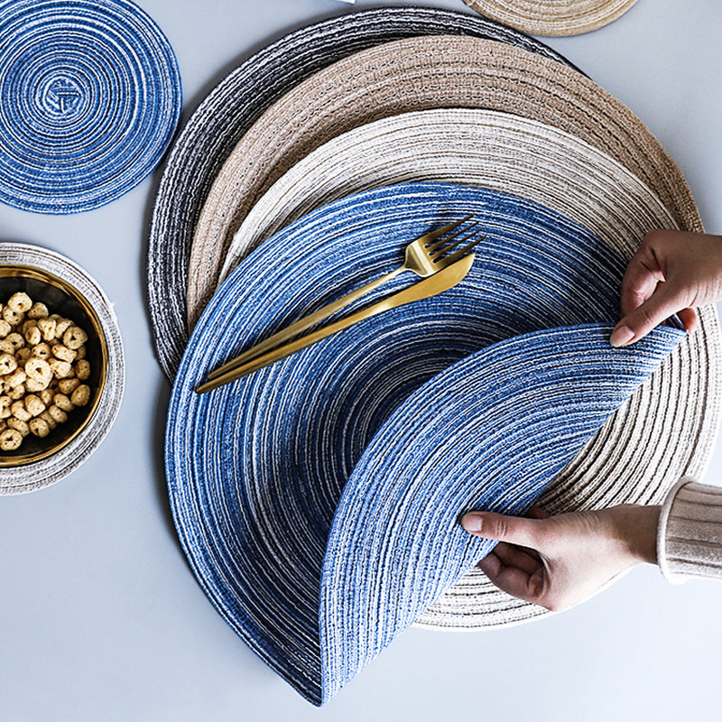 Round Weave Placemat - The Home Accessories Company