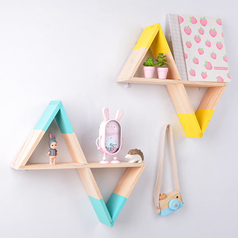 Nursery Wooden Decorative Shelving - The Home Accessories Company