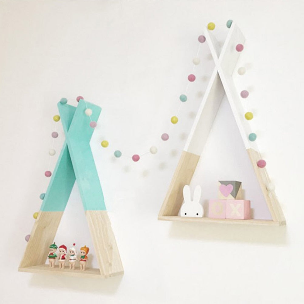 Children's Triangular Shelving- The Home Accessories Company 2