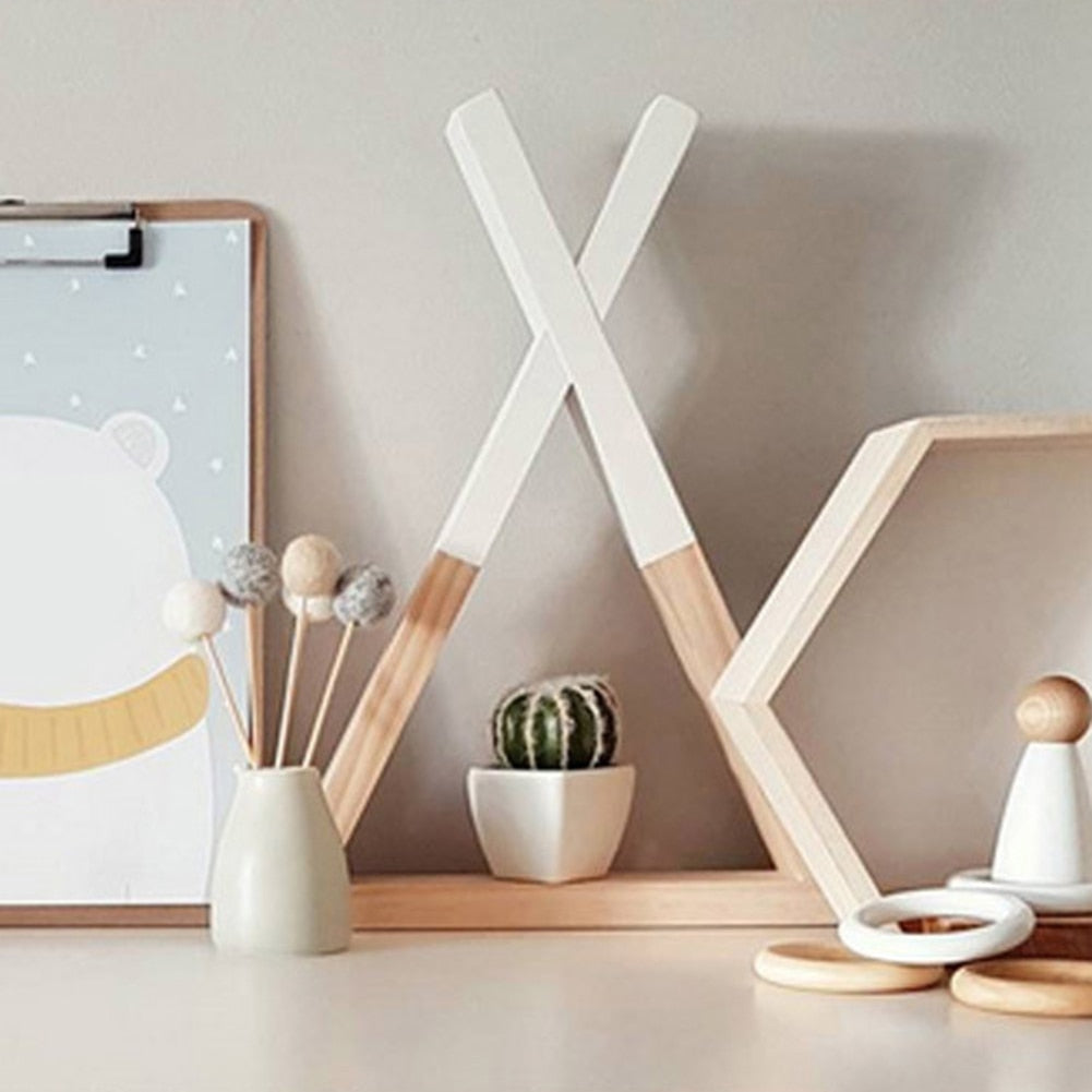 Children's Triangular Shelving- The Home Accessories Company 4