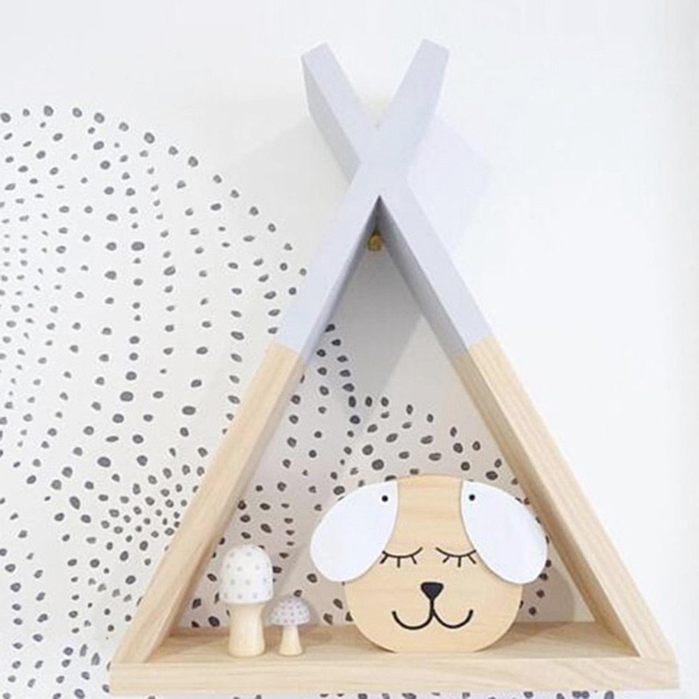 Children's Triangular Shelving- The Home Accessories Company 3