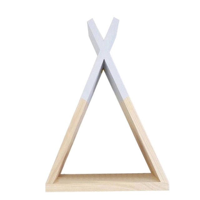 Children's Triangular Shelving- The Home Accessories Company 8