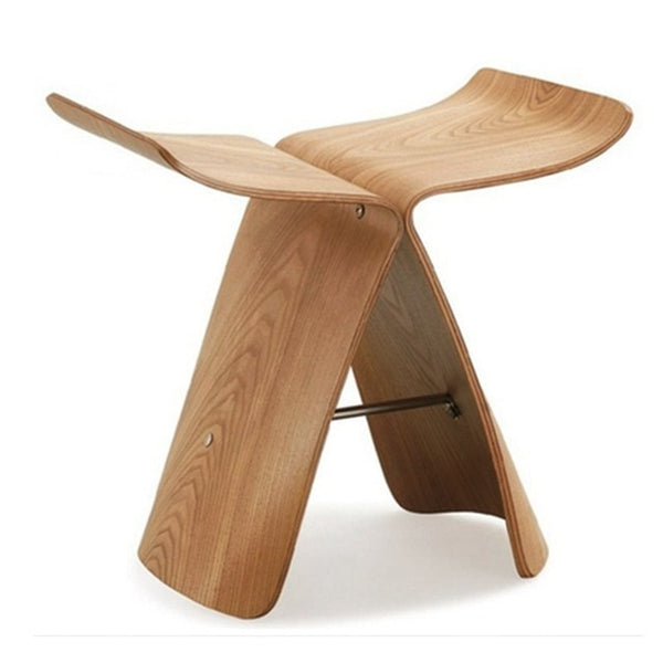 Replica Butterfly Wood Stool- The Home Accessories Company