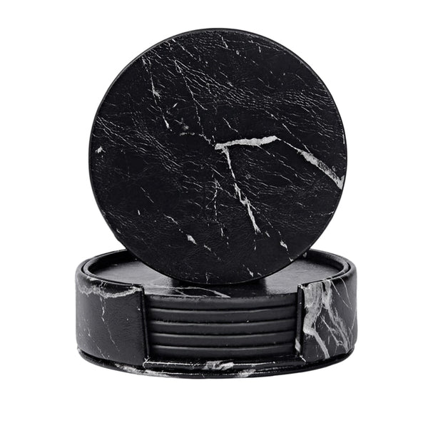 Marble Coaster Set- The Home Accessories Company