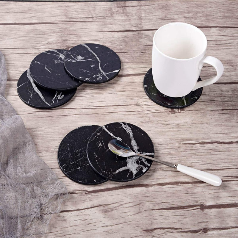 Marble Coaster Set- The Home Accessories Company 1
