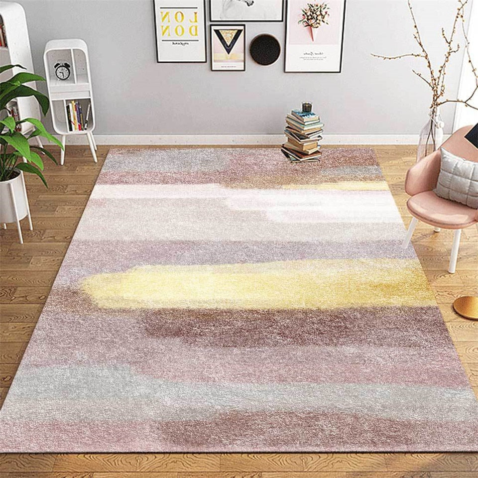 Abstract colour rug- The Home Accessories Company 1