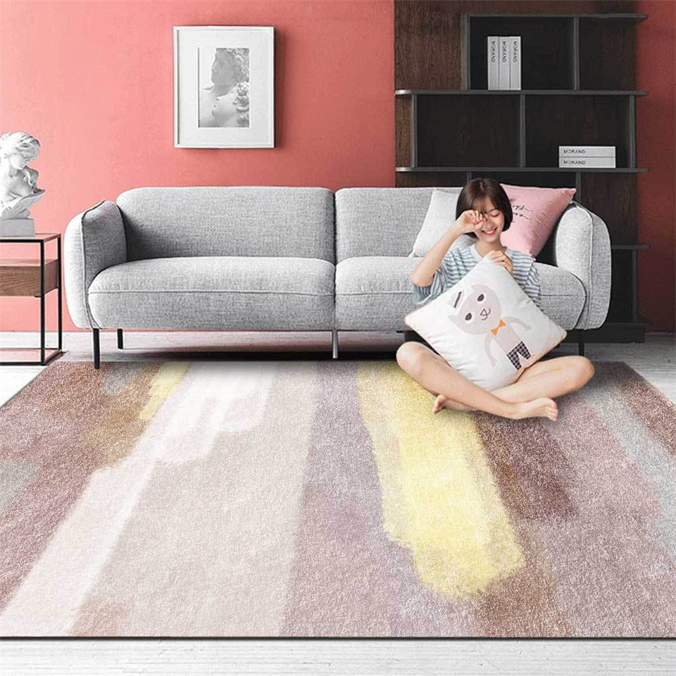Abstract colour rug- The Home Accessories Company 2