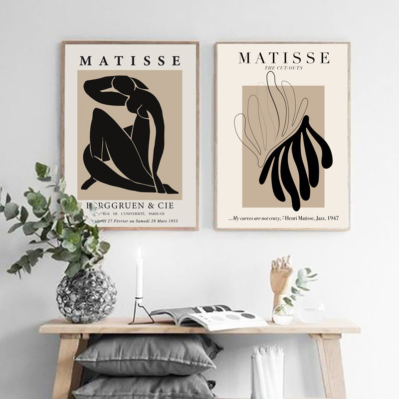 Henri Matisse Abstract Print- The Home Accessories Company