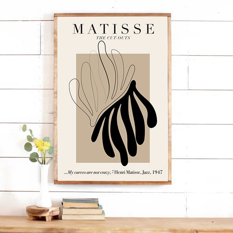 Henri Matisse Abstract Print- The Home Accessories Company 4