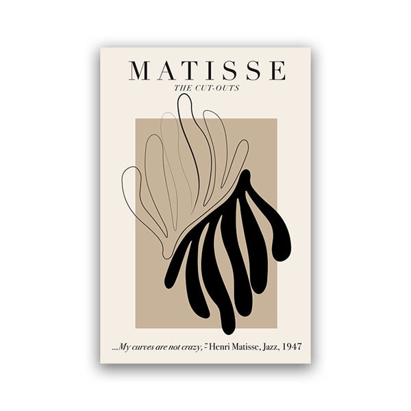 Henri Matisse Abstract Print- The Home Accessories Company 2