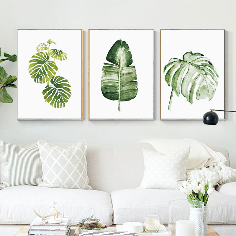 Palm Leaf Print - The Home Accessories Company