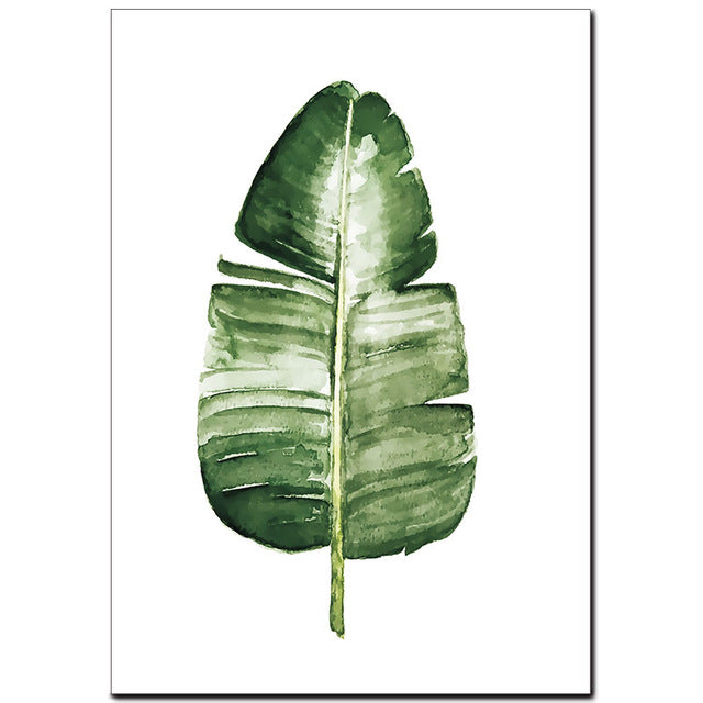 Palm Leaf Print - The Home Accessories Company 4