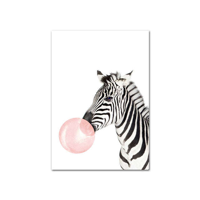 Pink Bubble Animal Wall Art - The Home Accessories Company 4