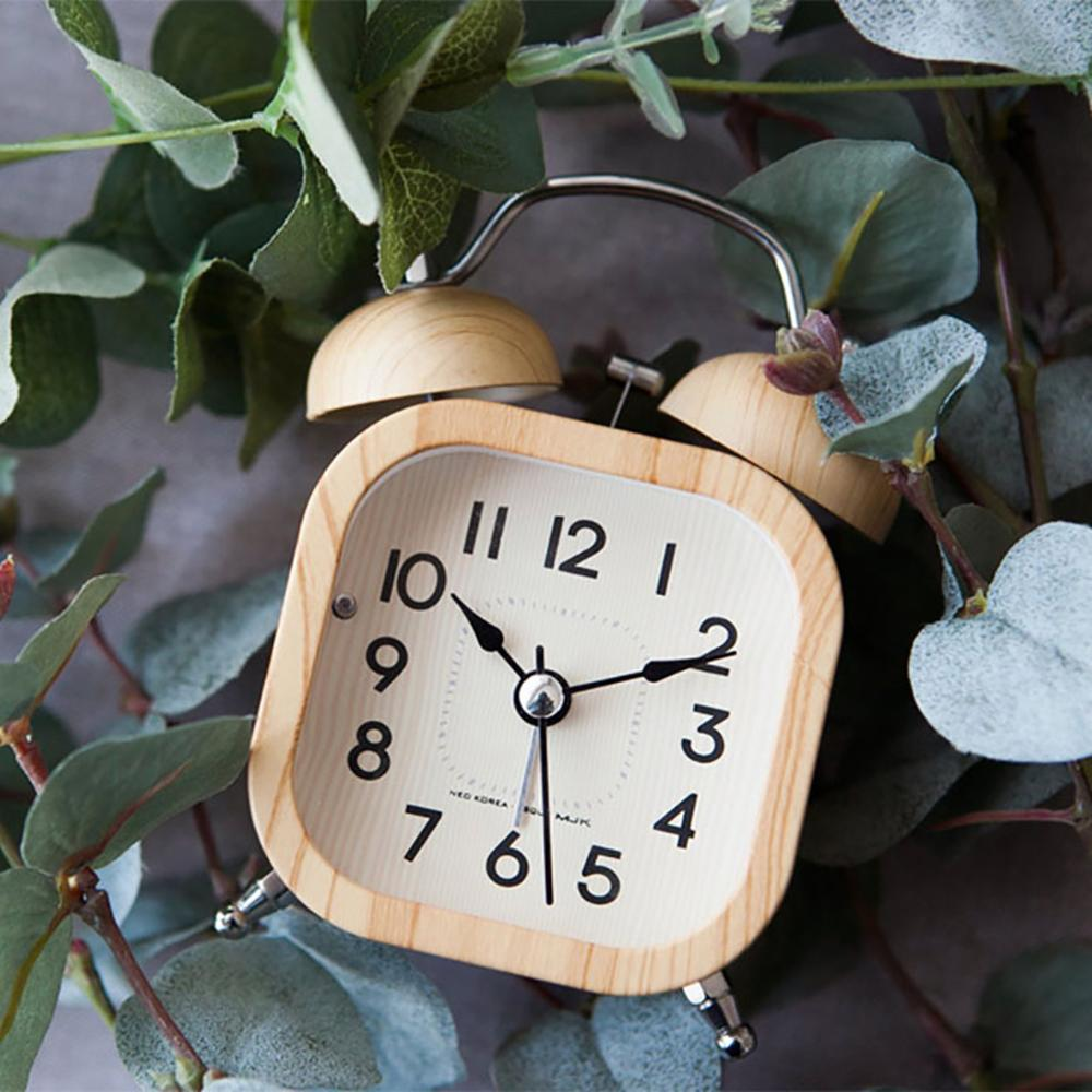 Retro Wooden Alarm Clock- The Home Accessories Company 1