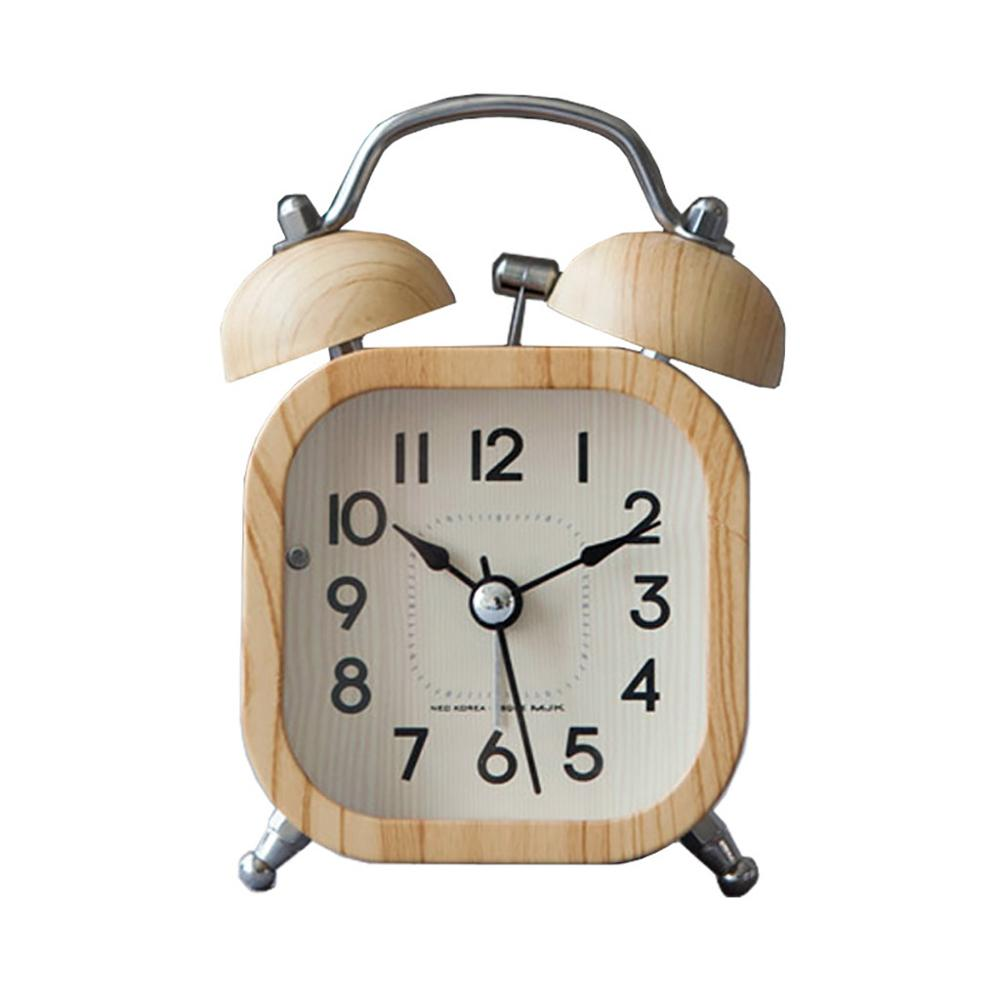 Retro Wooden Alarm Clock- The Home Accessories Company