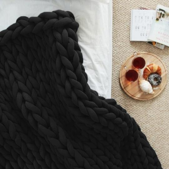 Chunky Knit throw- The Home Accessories Company 7