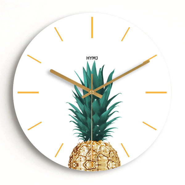 Pineapple wall clock- The Home Accessories Company