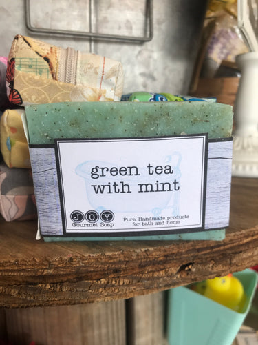 Green Tea with Mint Soap