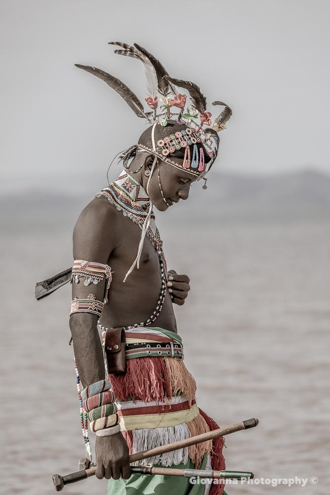 Iman warrior - Samburu tribe