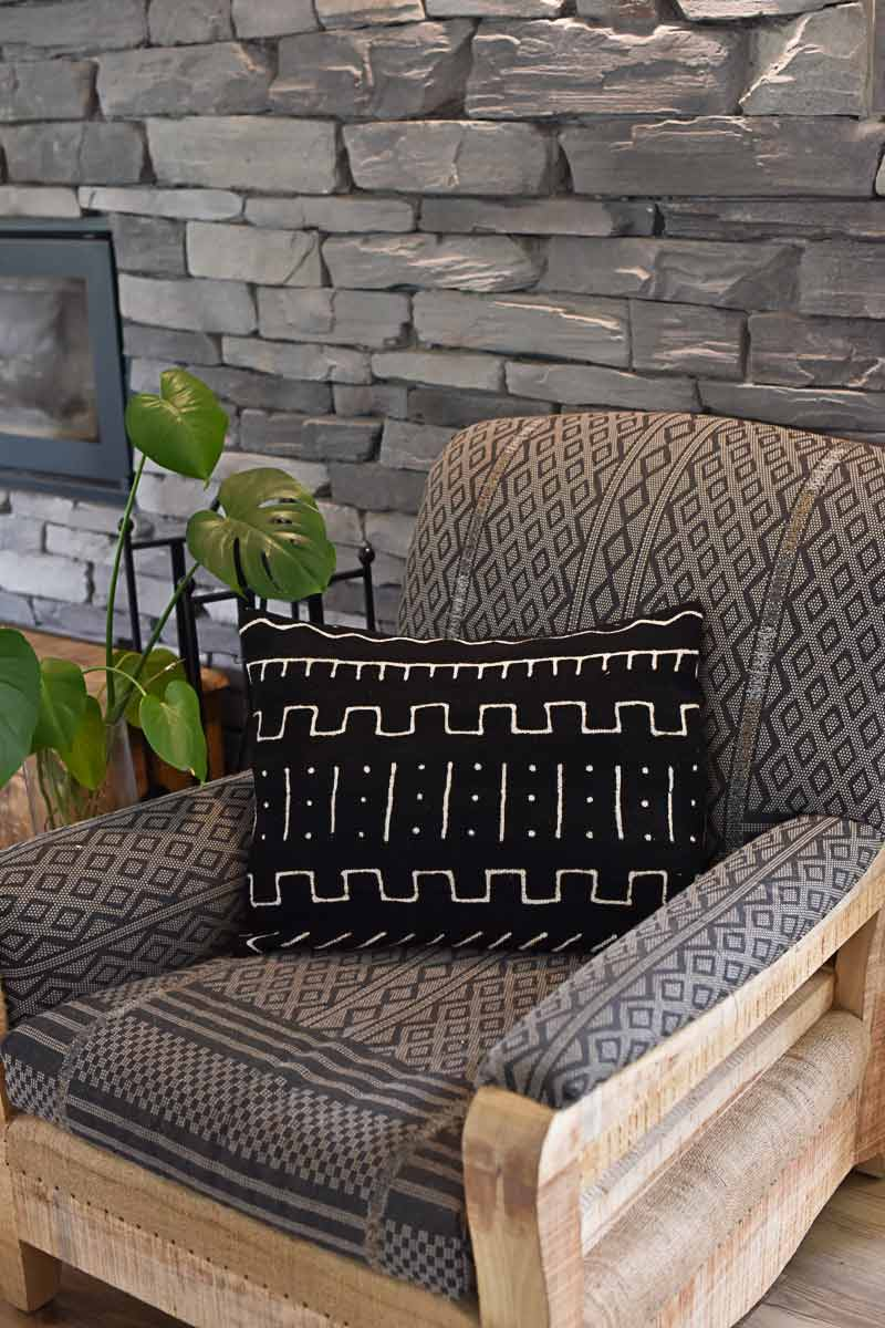 Mudcloth cushion covers 45x65cm