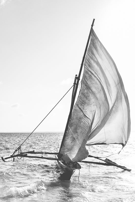 Dhow artwork on canvas