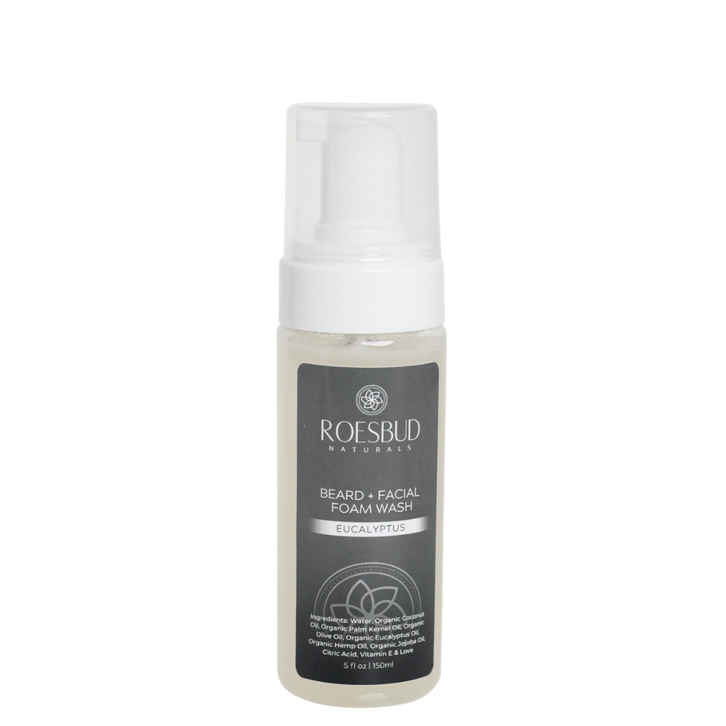 Eucalyptus Foaming Beard & Facial Wash