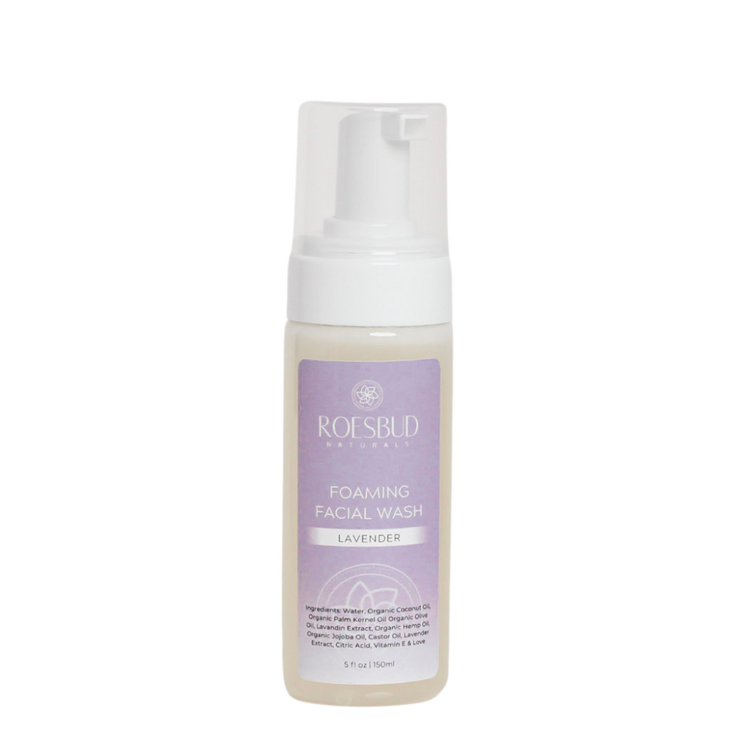 Lavender Foaming Facial Wash