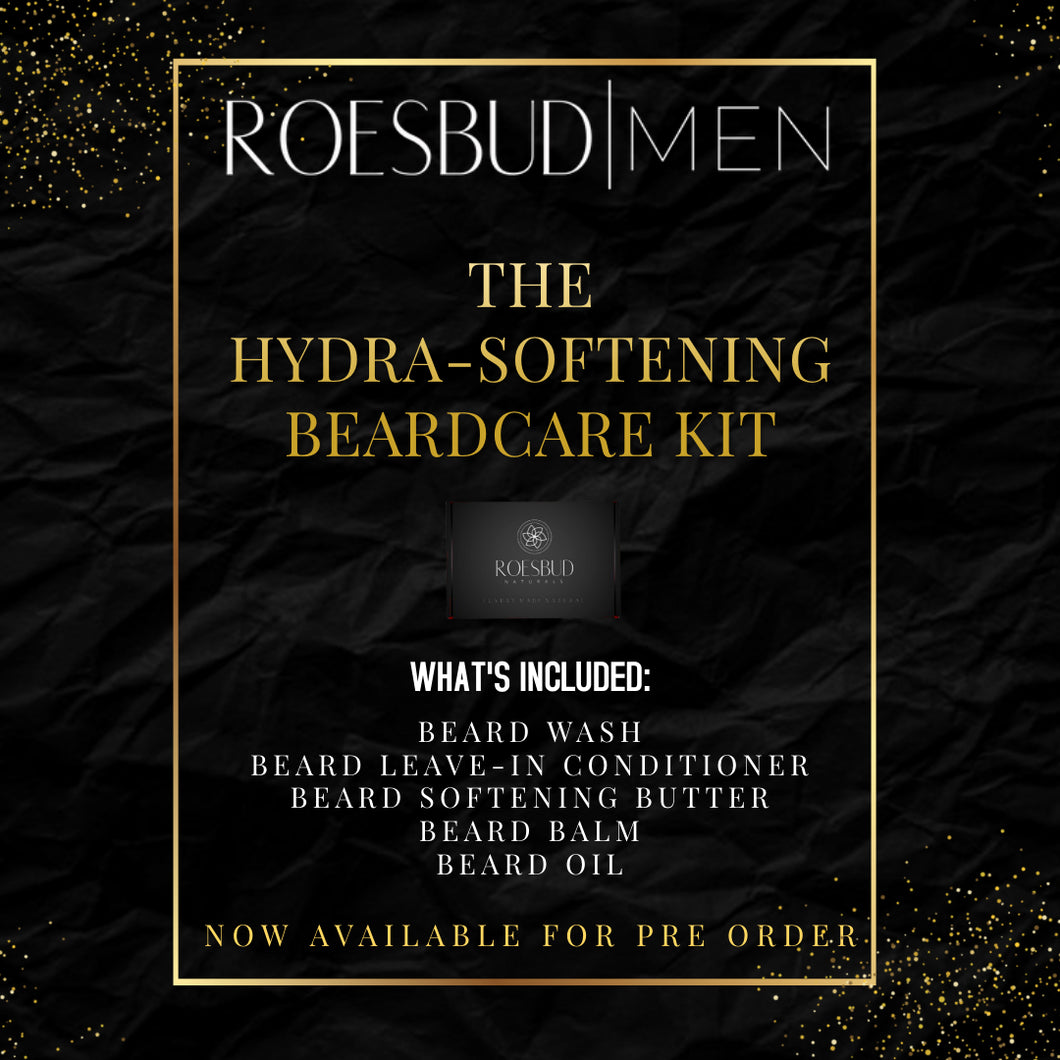 The Hydra-Softening Beard Care Kit -PREORDER-