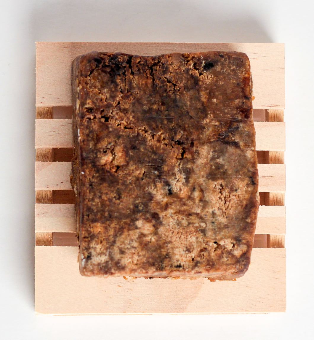 Traditional African Black Soap Bar