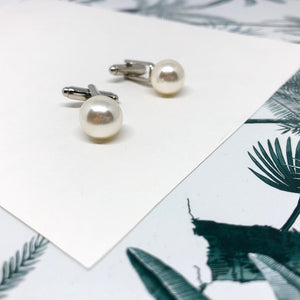 Pearl Cufflinks for Women