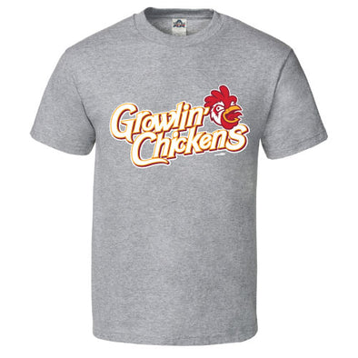 Youth Growlin' Chickens Gray