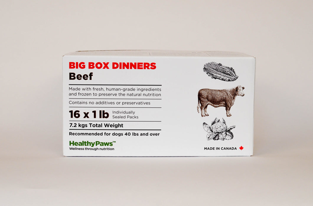 Big Box Dinners - 16x1lb - Beef