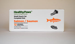 Small Dog & Cat Complete Dinners - 12x100gm Pieces - Salmon