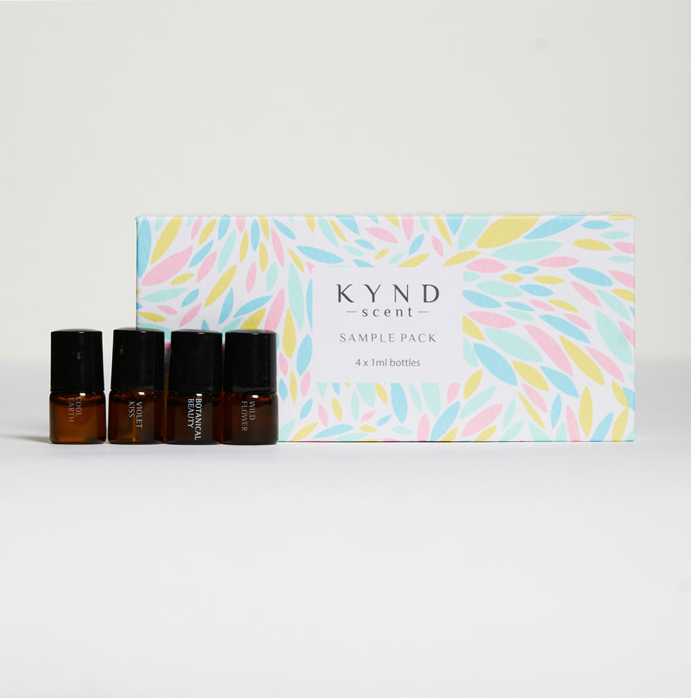 Kynd Scent Smalls Oil Perfume (Sample Pack)