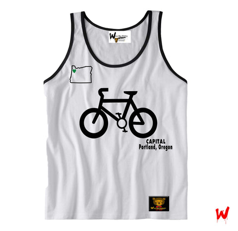 "Wavy Boy ""Bike Capitol"" Tank - Wavy Boy Clothing  - 2"