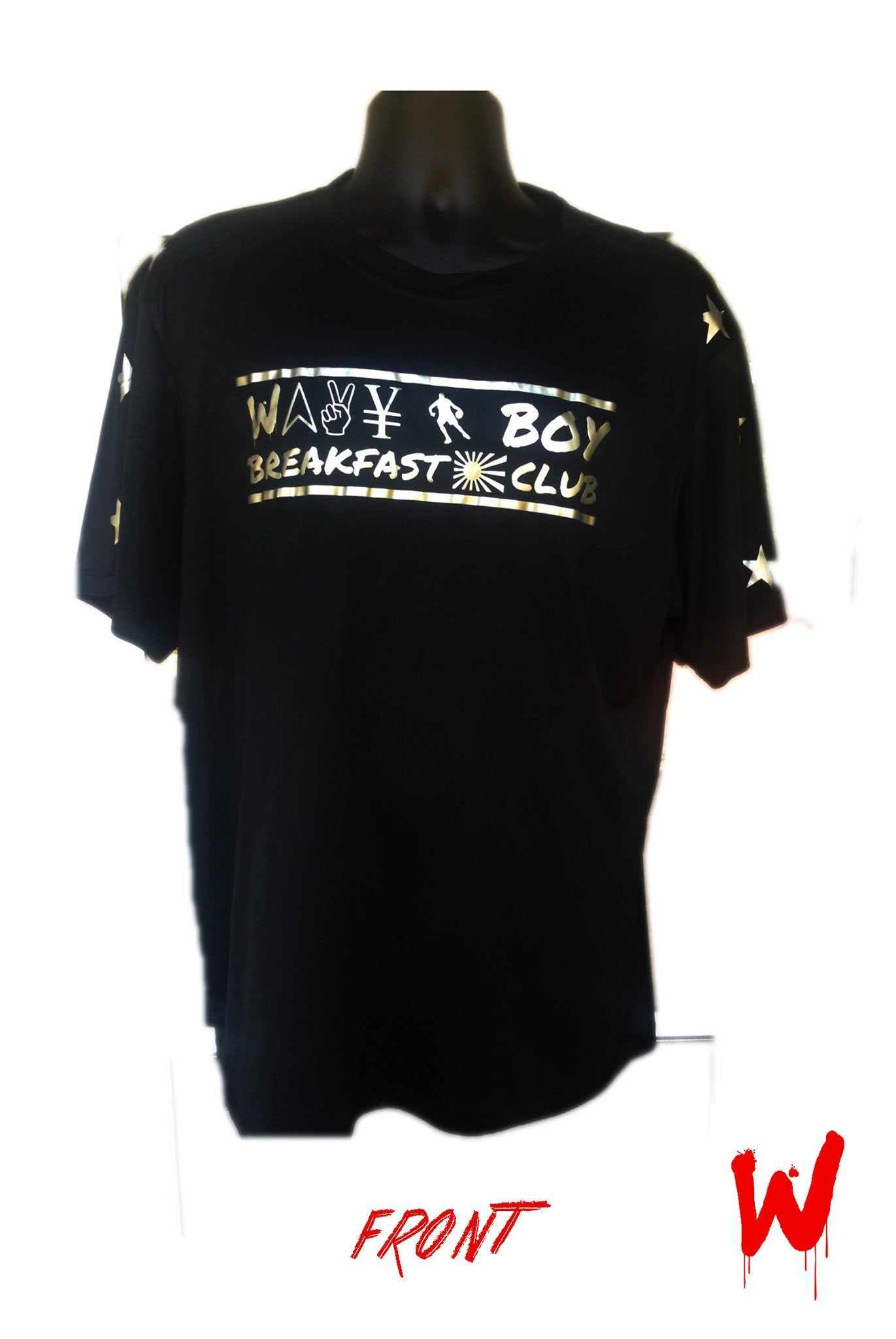 "Wavy Boy ""Midnight & Breakfast Club"" Workout Shirts - Wavy Boy Clothing  - 1"