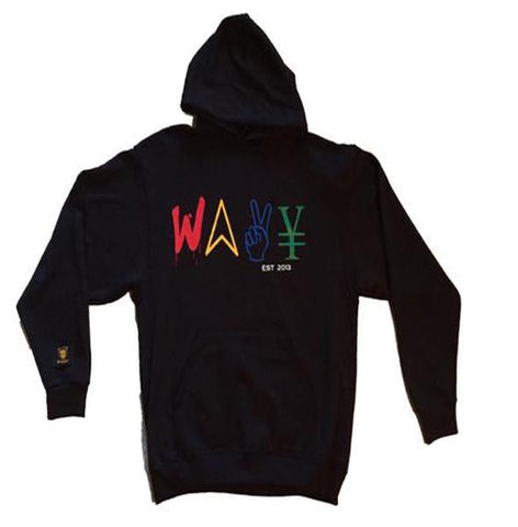 "Wavy Boy ""Color Wave"" hoodie"