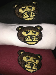"Wavy Boy ""Bear Head"" women's luxury fitted tees (3) - Wavy Boy Clothing  - 3"