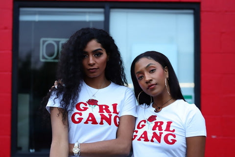 "Wavy Boy "" Girl Gang"" Tee"