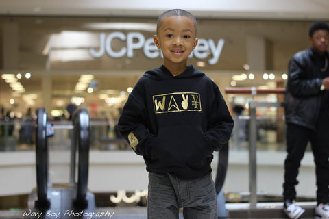 "(Kids) Wavy ""New Wave"" Hoody - Wavy Boy Clothing  - 2"