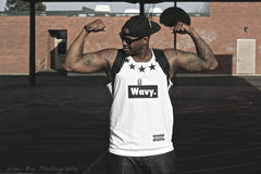 "Wavy Boy ""5 Star"" Tank - Wavy Boy Clothing  - 3"