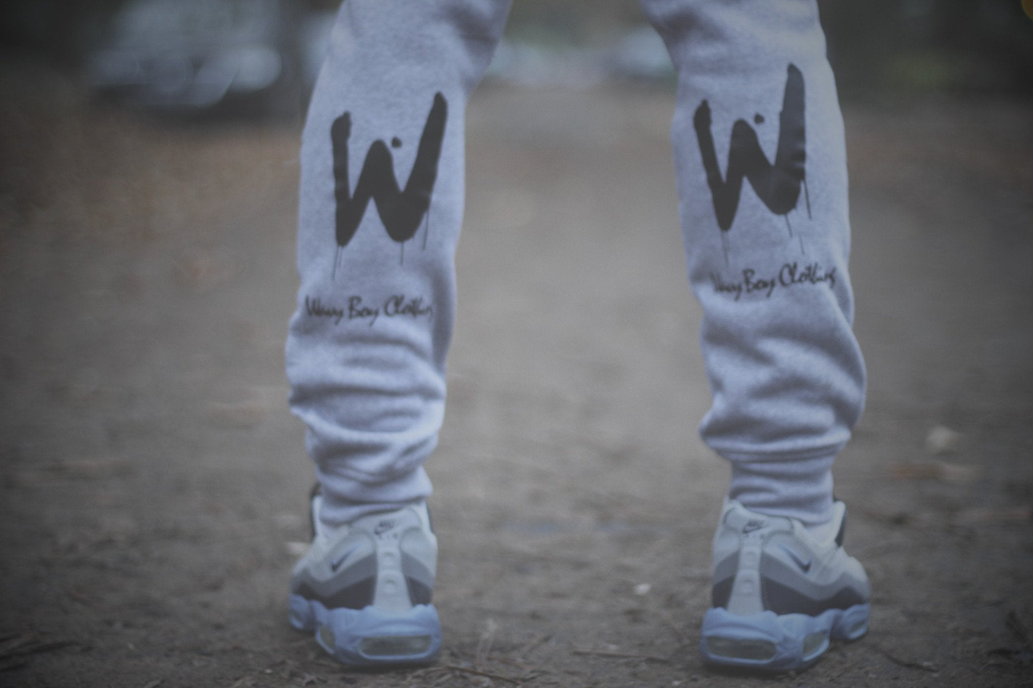 "Wavy Boy ""Drippy W"" joggers - Wavy Boy Clothing  - 4"